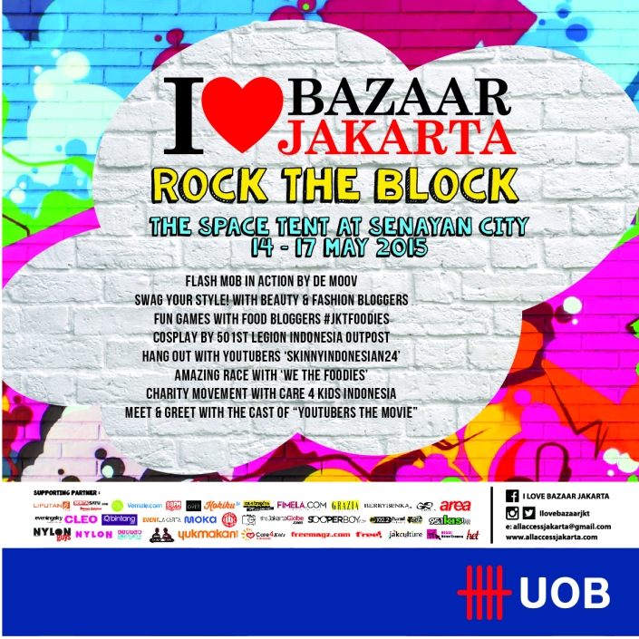 I Love Bazaar Jakarta 4 Rock the Block