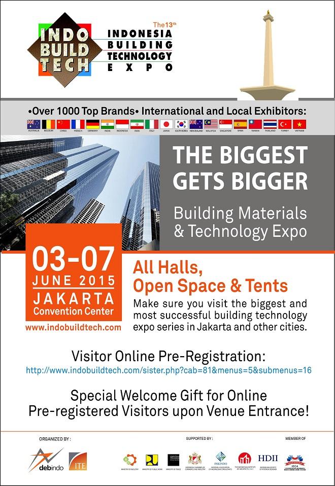 INDOBUILDTECH EXPO JAKARTA 2015
