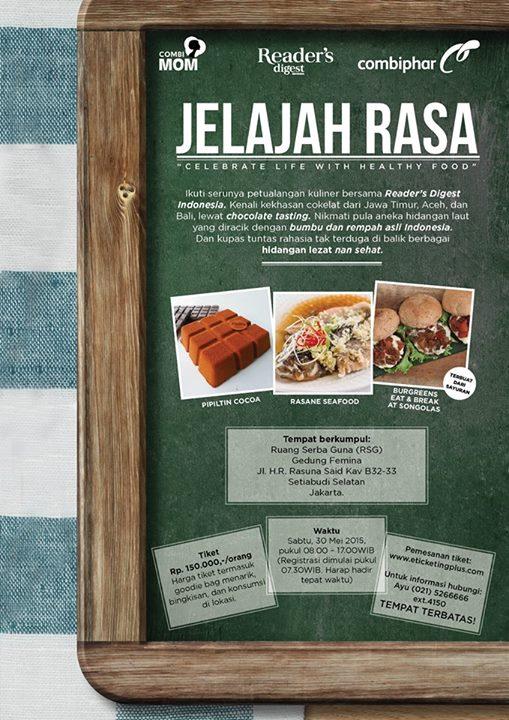 JELAJAH RASA READERS DIGEST INDONESIA