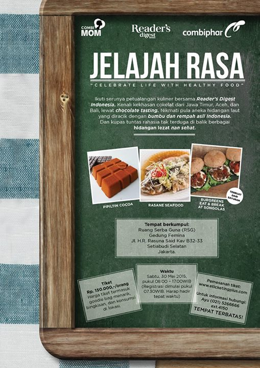 JELAJAH RASA READERS DIGEST INDONESIA