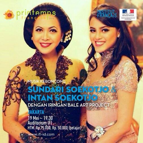 konser Sundari & Intan Soekotjo with Bale Art Project