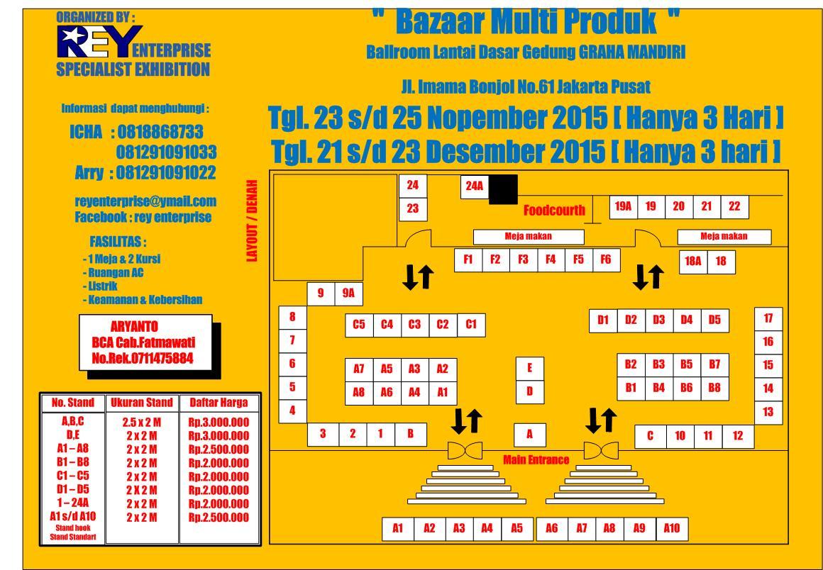 Bazaar Akhir Tahun 2015 171 Informasi Pameran Event Dan