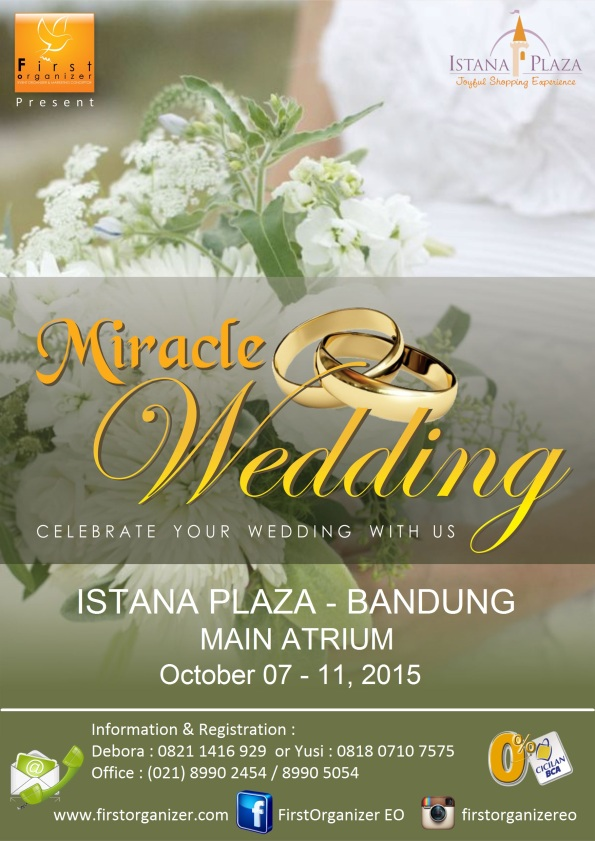Miracle Wedding Exhibition Bandung