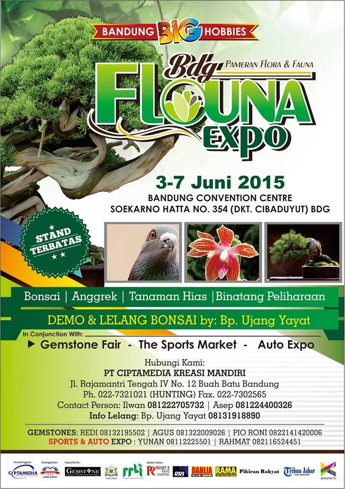 Pameran Bandung Flouna Expo 2015