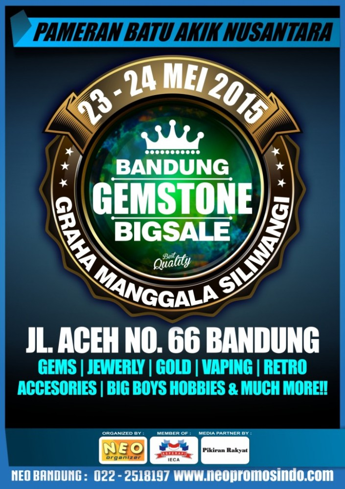 Pameran Bandung Gemstone Big Sale 2015