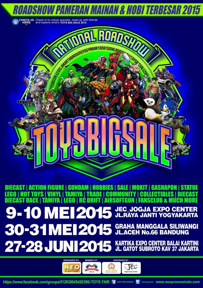 Roadshow ToysBigSale 2015