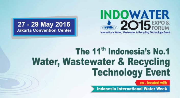 The 11th Indo Water 2015 Expo & Forum