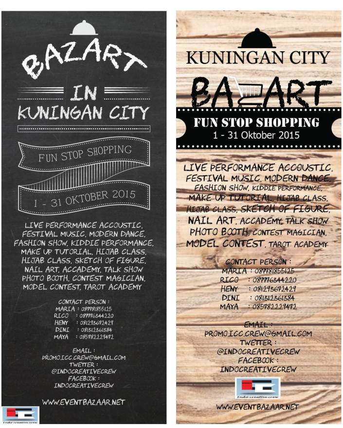 Bazaar Fun Stop Shopping in Kuningan City