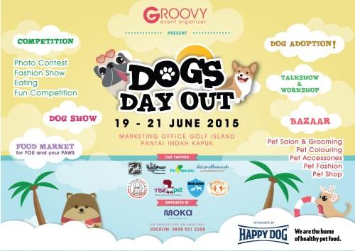 DOGS DAY OUT Pantai Indah Kapuk, Jakarta