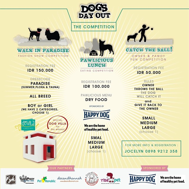 DOGS DAY OUT Pantai Indah Kapuk