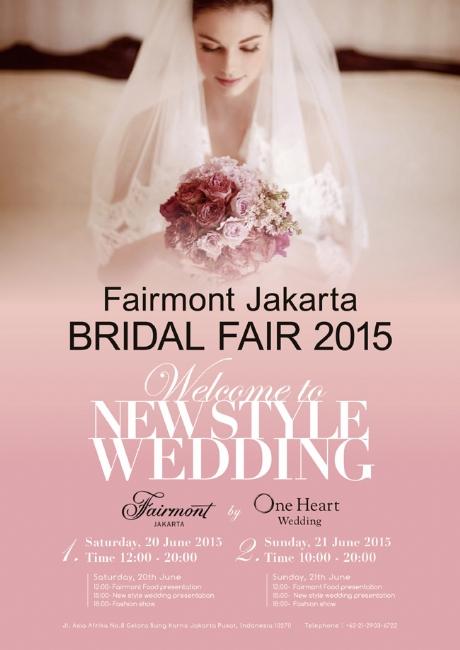 Fairmont Jakarta Bridal Fair 2015