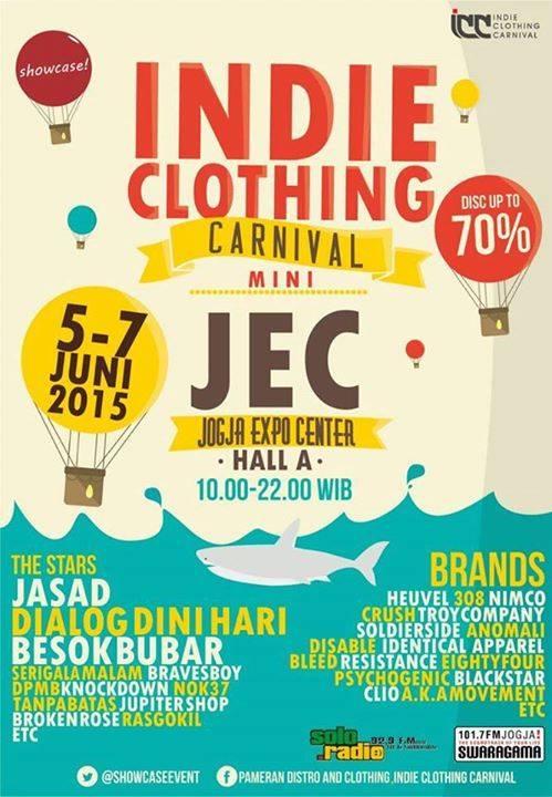 Indie Clothing Carnival Yogyakarta 2015