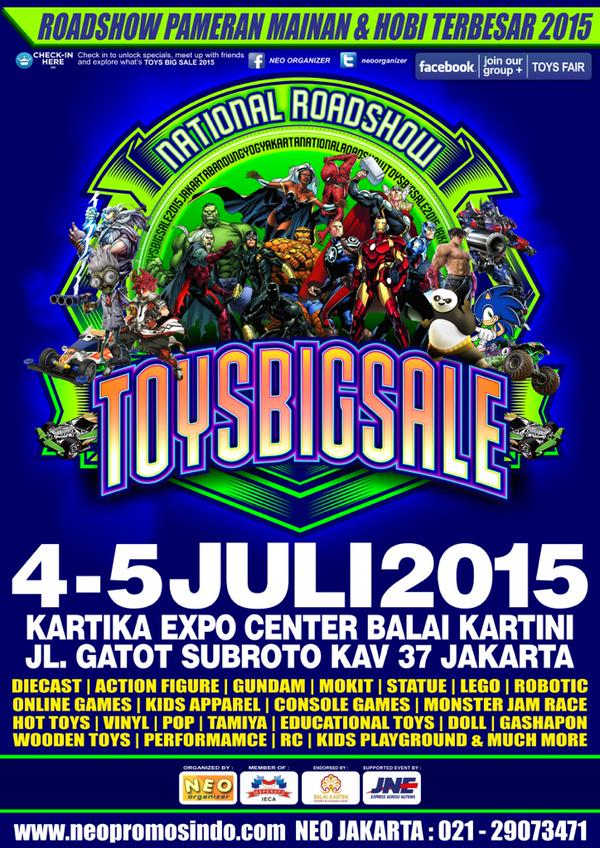 Jakarta Toys Big Sale 2015