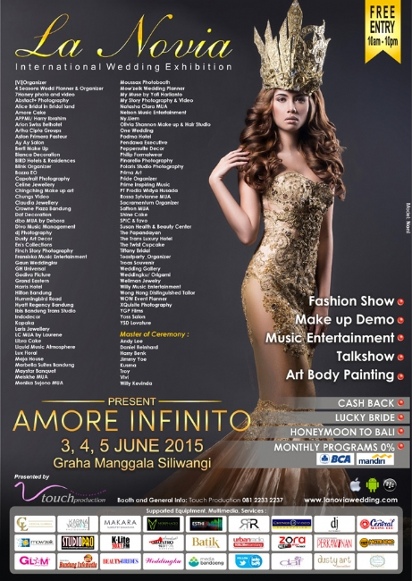 La Novia International Wedding Exhibition 2015