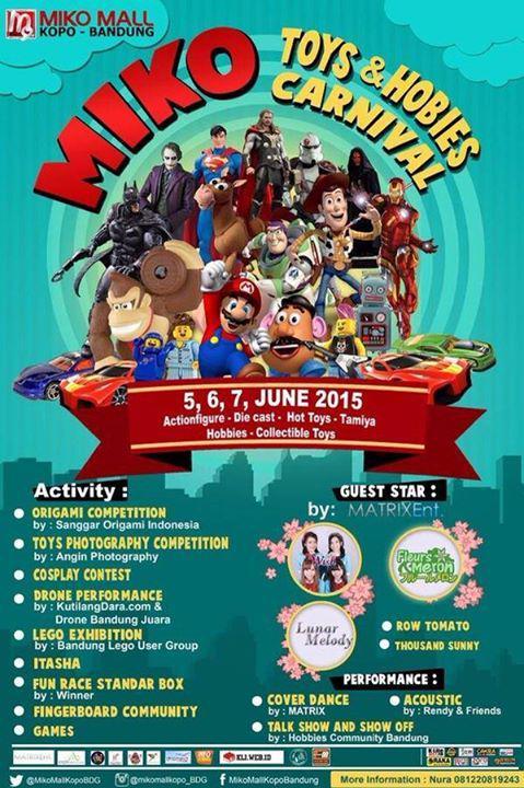 MIKO Toys & Hobbies Carnival Bandung 2015