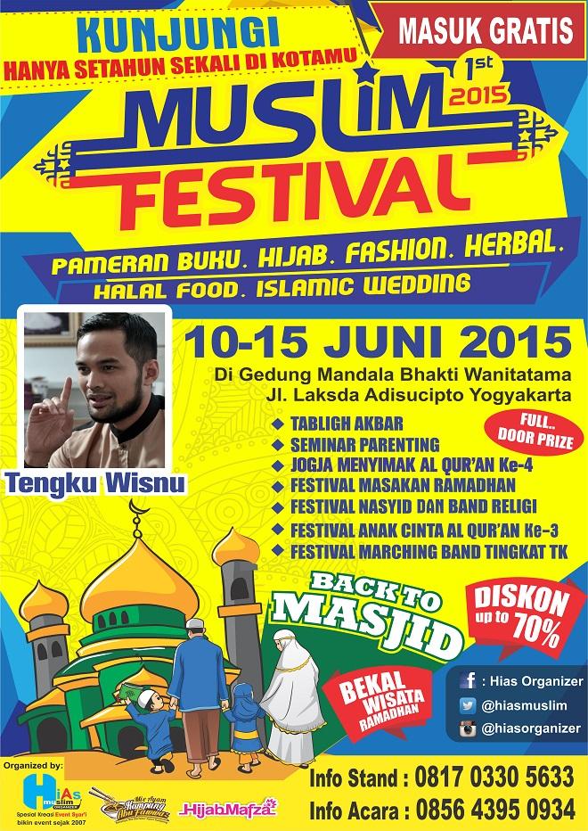 Muslim Festival 2015 Yogyakarta