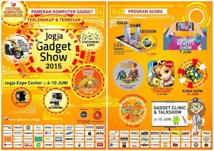 Pameran Gadget Show Jogja 2015