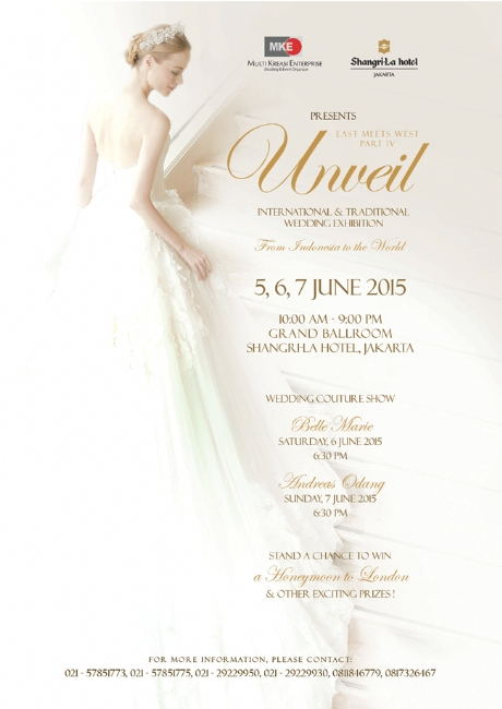 Unveil International & Traditional Wedding Exhibition 2015
