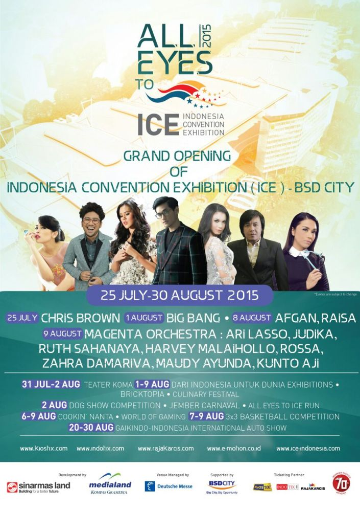 Grand Opening ICE (Indonesia Convention Exhibition) BSD 2015