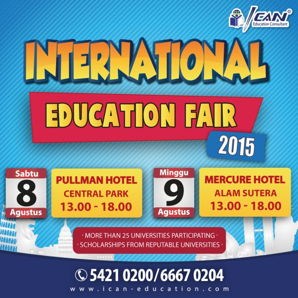 INTERNATIONAL EDUCATION FAIR 2015