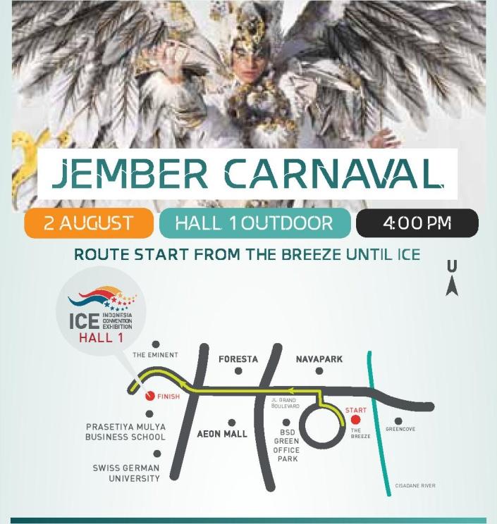 Jember Carnaval 2015 - ICE BSD Grand Opening 2015