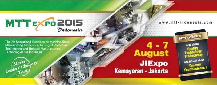 MTT Expo Indonesia 2015