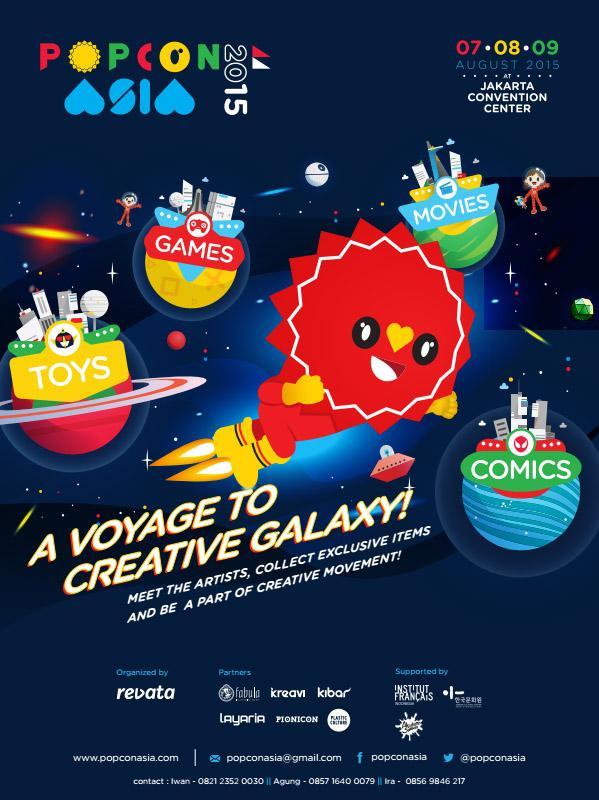 PopConAsia 2015 Creative Galaxy