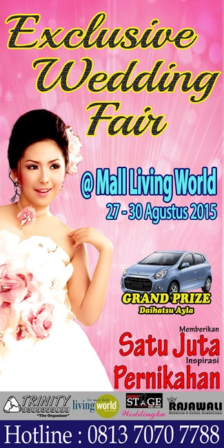 Exclusive Wedding Fair at Mall Living World