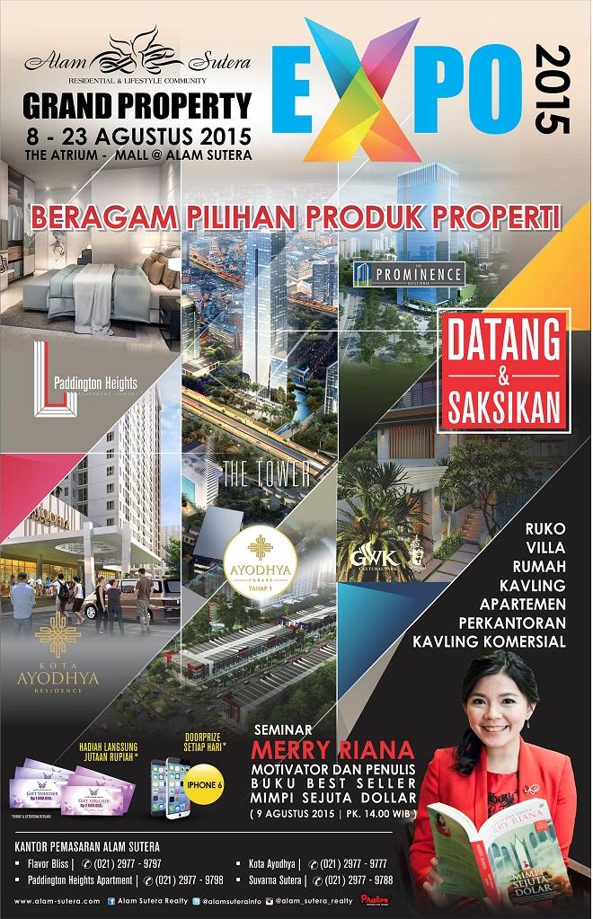 Grand Property EXPO 2015 – Mall @ Alam Sutera