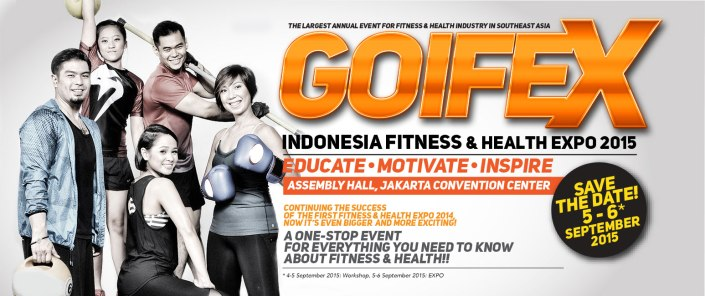 Indonesia Fitness & Health Expo 2015