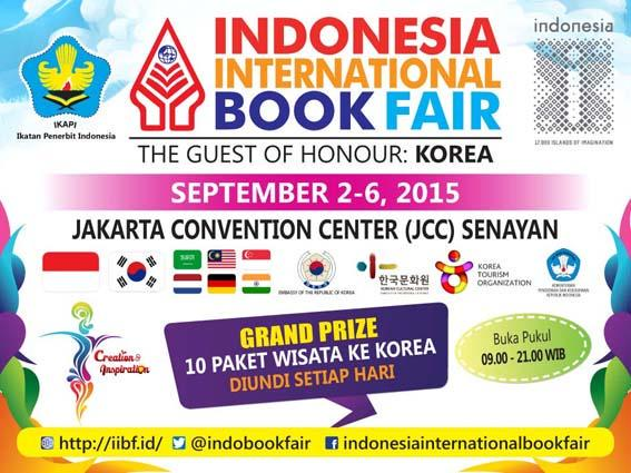 Indonesia International Book Fair 2015