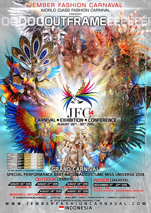 Jember Fashion Carnival 2015