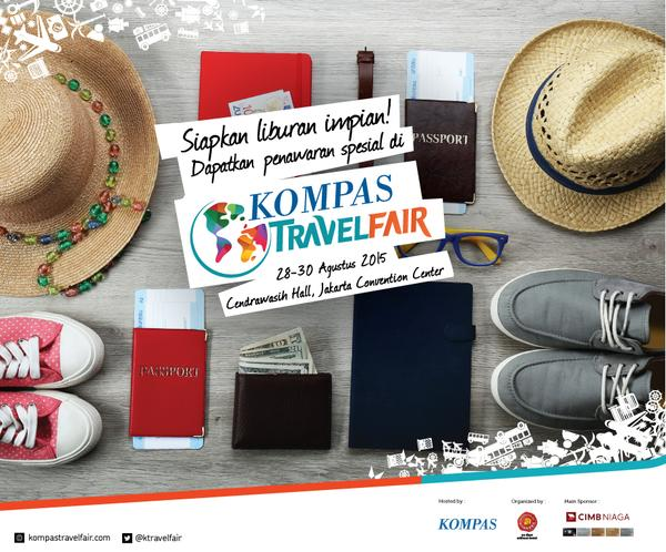 Kompas Travel fair 2015 - KTravelFair2015