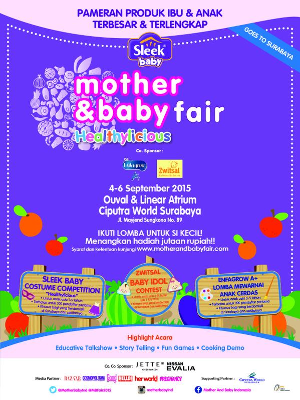 MOTHER & BABY FAIR 2015 – Surabaya