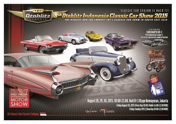 The 8th Otoblitz Indonesia Classic Car Show 2015