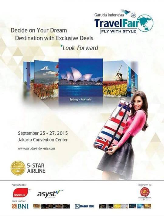 Garuda Travel Fair - September 2015