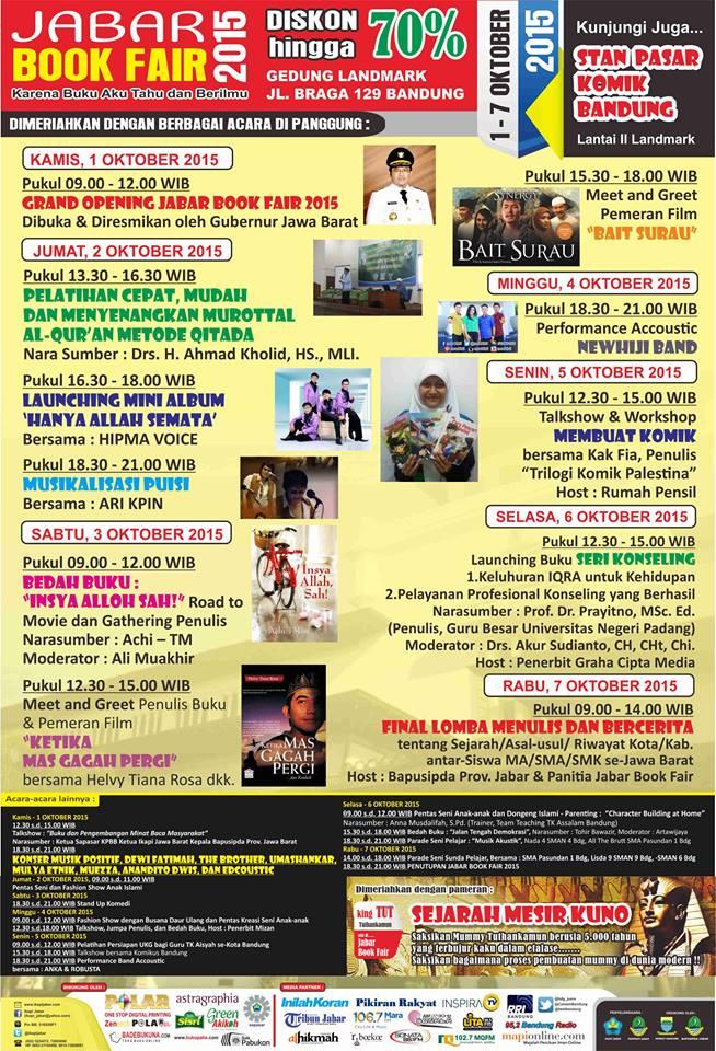 Jabar Book Fair 2015 – Bandung
