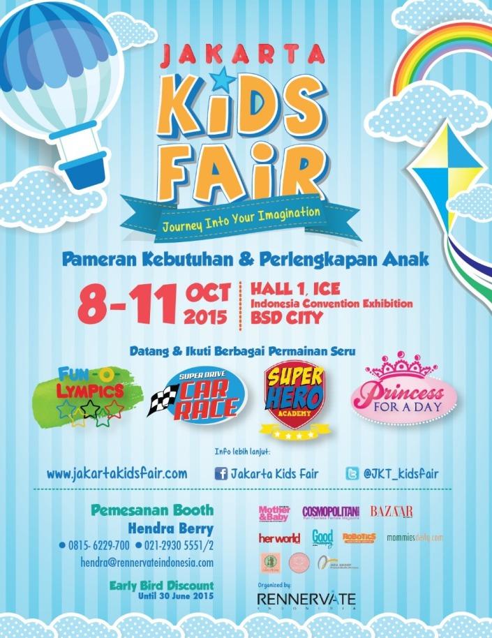 Jakarta Kids Fair 2015