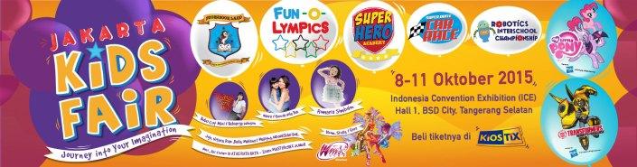 Jakarta Kids Fair expo 2015