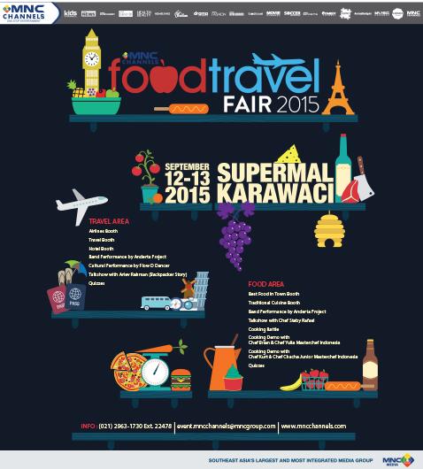 MNC Food & Travel Fair 2015