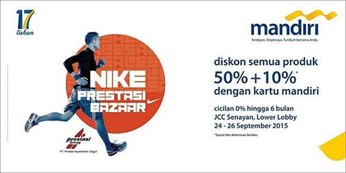 Nike Prestasi Bazaar 2015 171 Informasi Pameran Event Dan