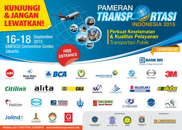 Pameran Transportasi Indonesia 2015