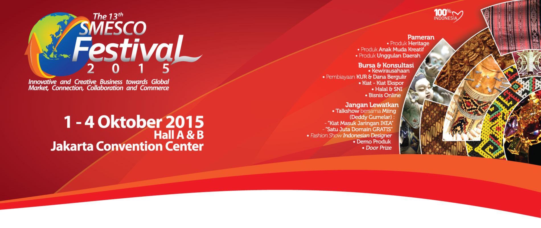 the 13th smesco festival 2015