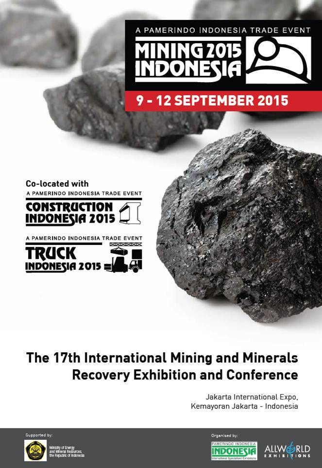 The 17th International Mining and Materials Recovery Exhibition and Conference 2015