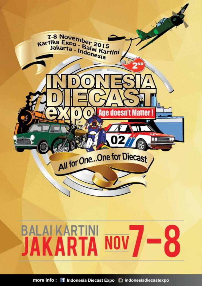 2nd Indonesia Diecast Expo 2015