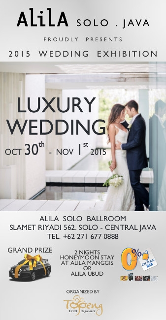 AlilA Luxury Wedding Exhibition Solo 2015