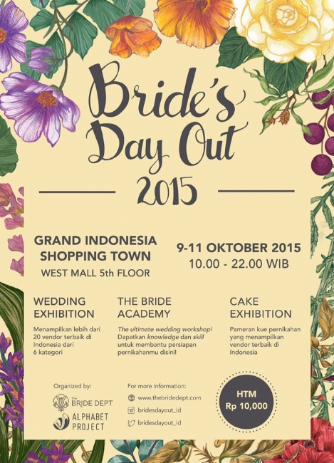 Bride's Day Out 2015 by The Bride Dept and Alphabet Project