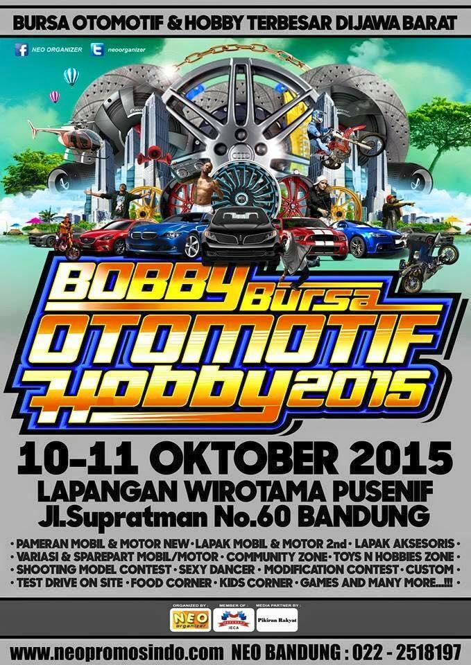 Bursa Otomotif & Hobby (BOBBY) 2015