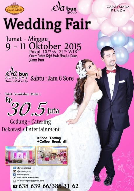 Eva Bun Bridal Wedding Fair 9 - 11 Oktober 2015