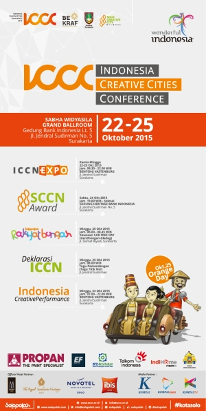 Indonesia Creative Cities Conference (ICCC) 2015 run down